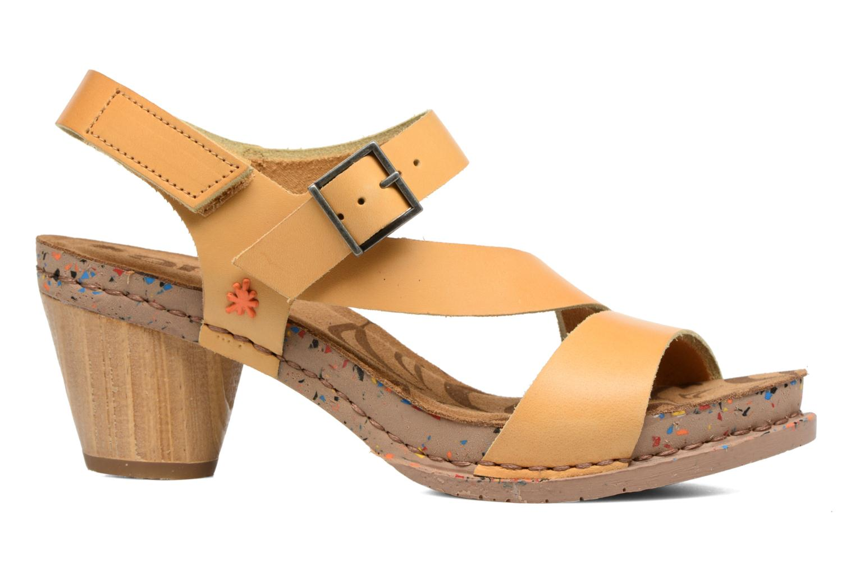 Sandales et nu-pieds Art I Laugh 1111 Jaune vue derrière