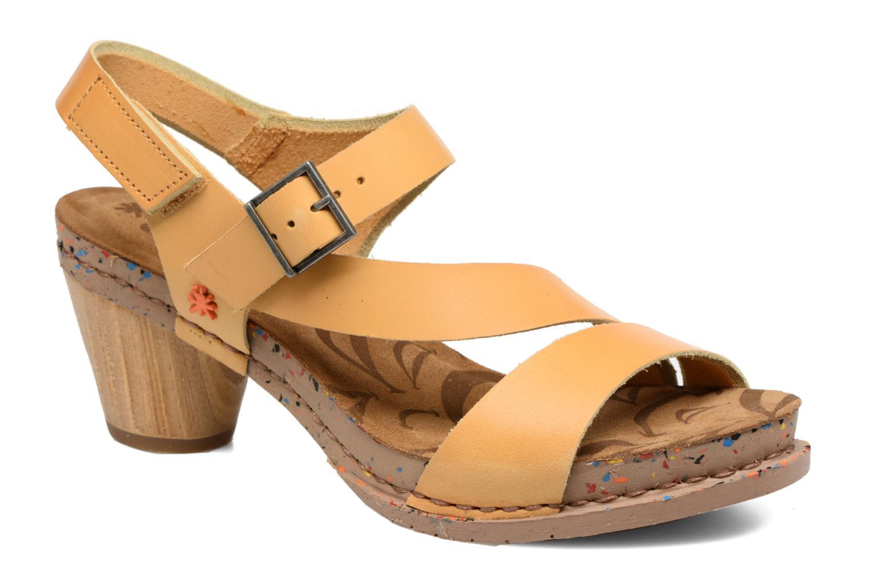 Sandales et nu-pieds Art I Laugh 1111 Jaune vue détail/paire