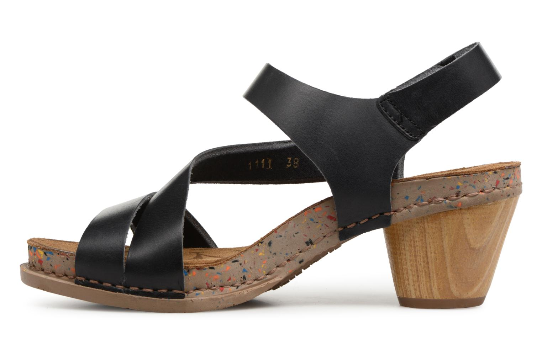Sandalen Art I Laugh 1111 schwarz ansicht von vorne
