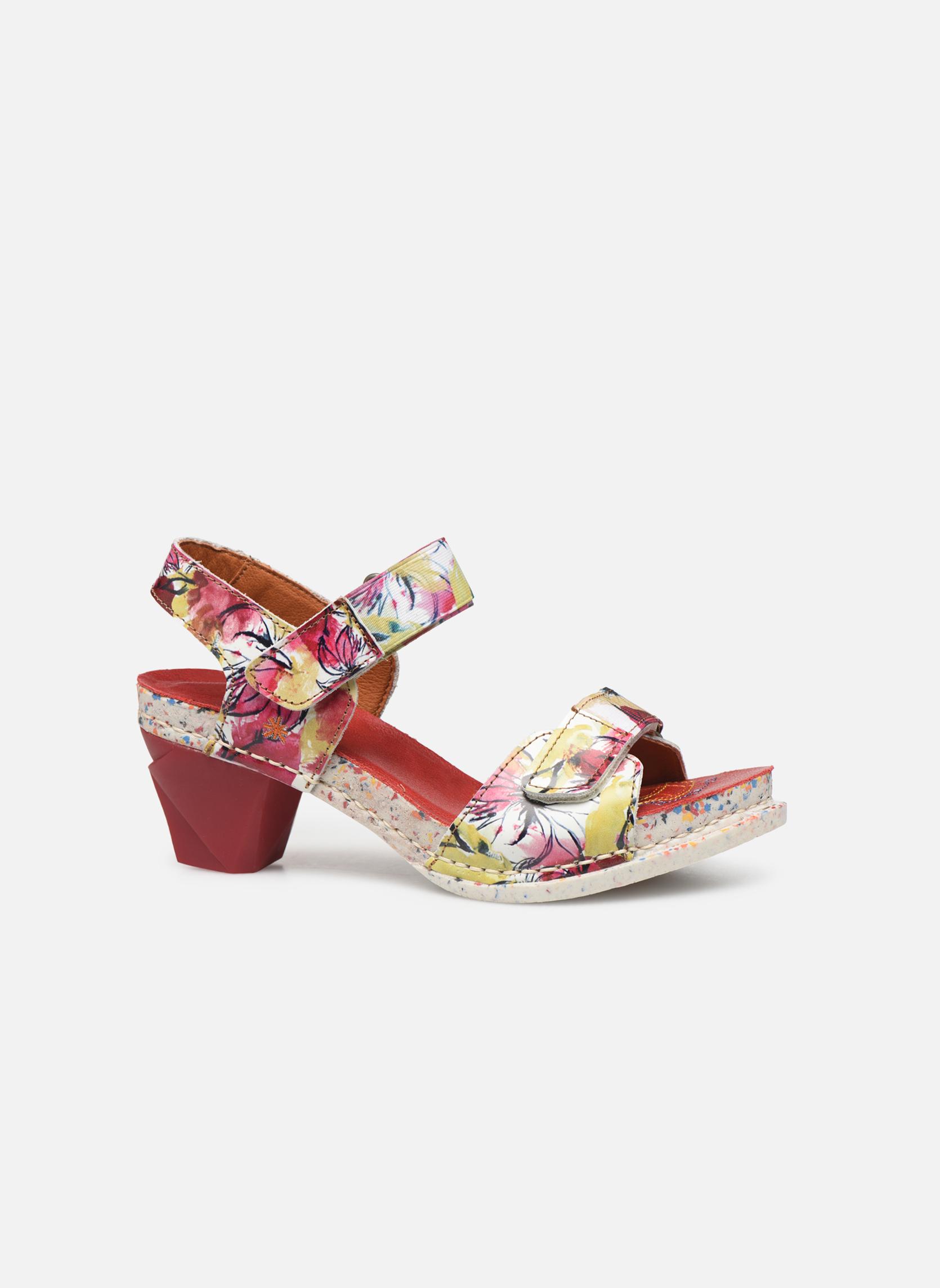 Sandales et nu-pieds Art I Enjoy 1121 Multicolore vue derrière