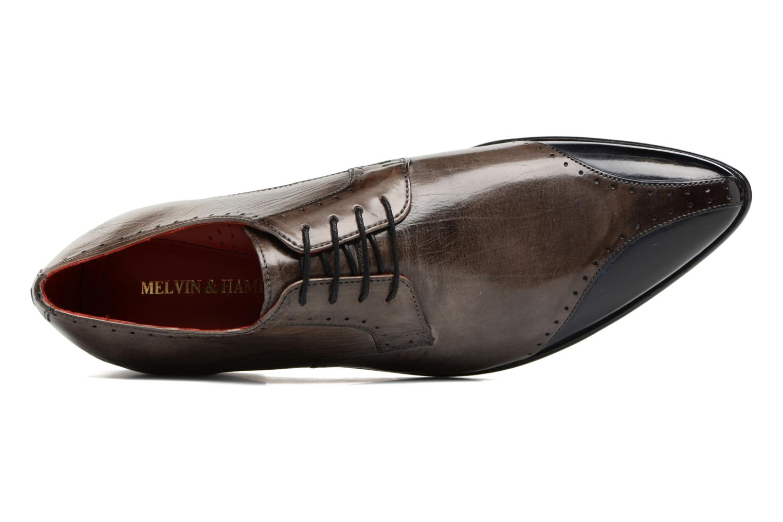 Chaussures à lacets Melvin & Hamilton Toni 9 Marron vue gauche