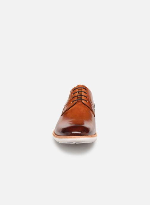 Zapatos con cordones Melvin & Hamilton Eddy 8 Marrón vista del modelo