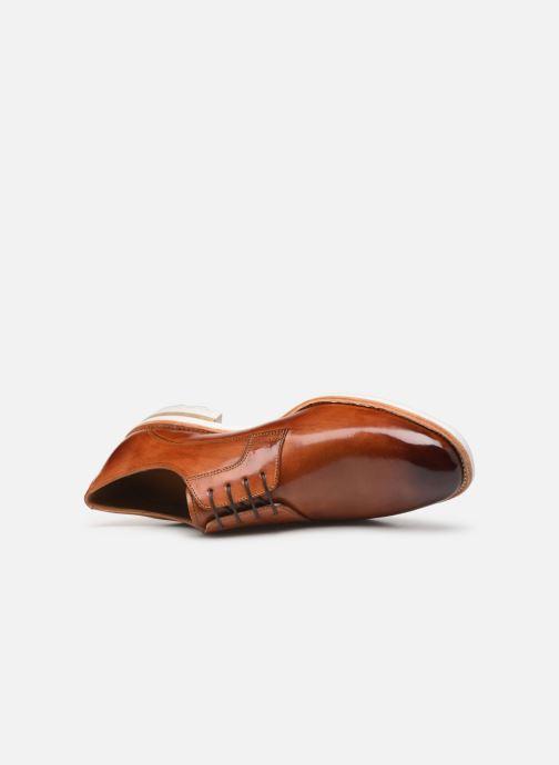 Zapatos con cordones Melvin & Hamilton Eddy 8 Marrón vista lateral izquierda