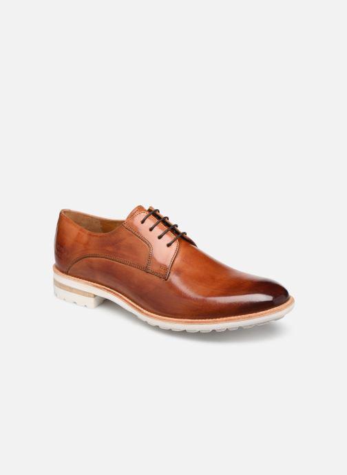Zapatos con cordones Melvin & Hamilton Eddy 8 Marrón vista de detalle / par