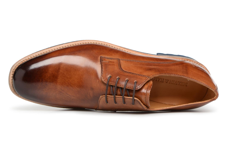 Chaussures à lacets Melvin & Hamilton Eddy 8 Marron vue gauche