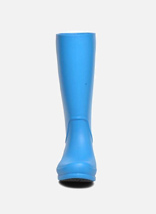 Bottes Crocs Wellie Rain Boots F Bleu vue portées chaussures