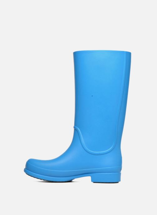 Bottes Crocs Wellie Rain Boots F Bleu vue face