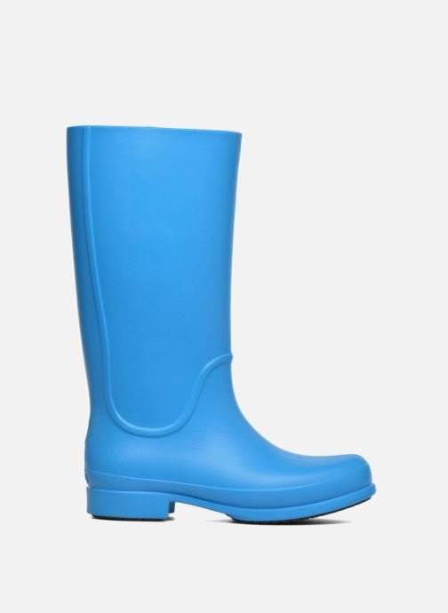 Bottes Crocs Wellie Rain Boots F Bleu vue derrière
