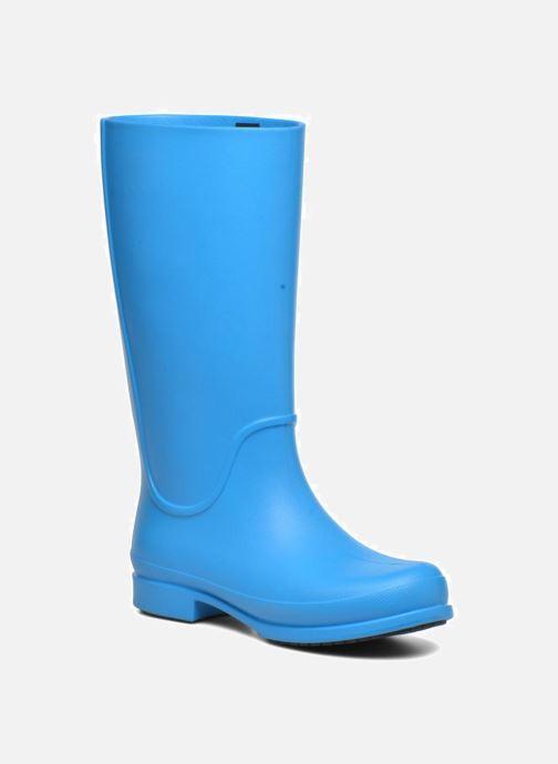 Bottes Crocs Wellie Rain Boots F Bleu vue détail/paire