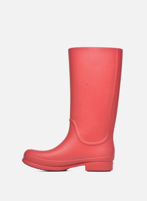 Bottes Crocs Wellie Rain Boots F Rouge vue face
