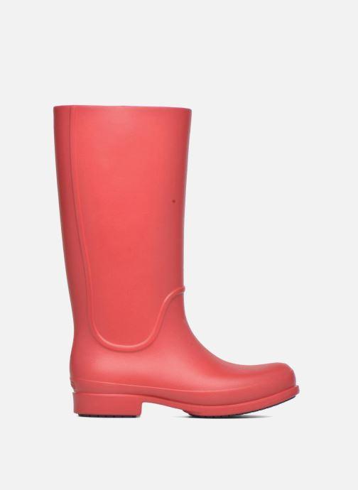 Bottes Crocs Wellie Rain Boots F Rouge vue derrière