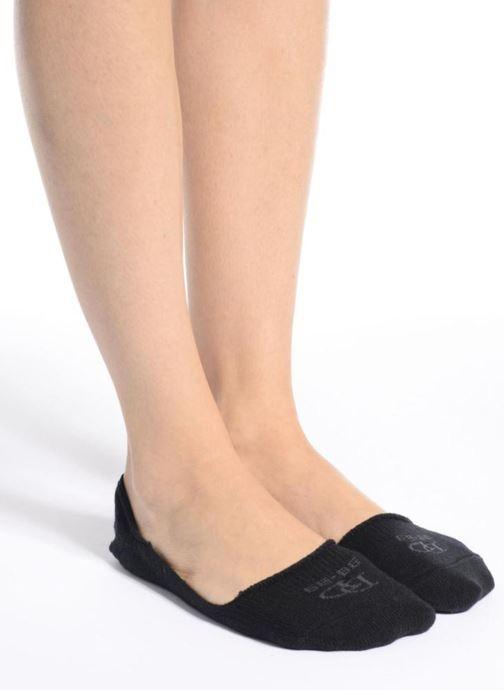 Sokken en panty's Doré Doré Chaussettes invisibles Mixte Laine Zwart boven