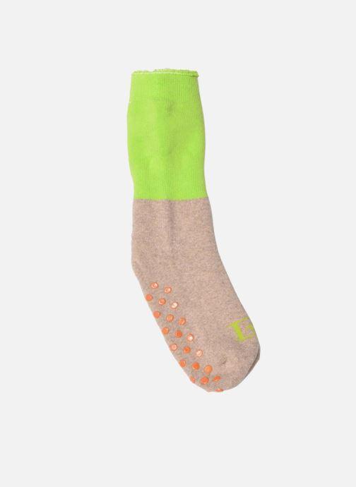 Chaussettes et collants Doré Doré Chaussons-chaussettes Enfant Coton Anti-dérapants Bi-color Beige vue détail/paire