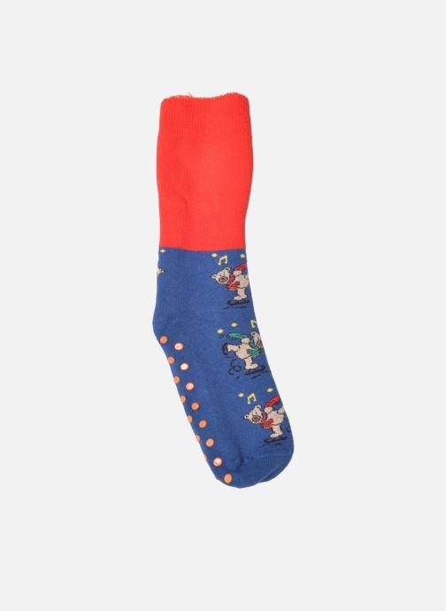Chaussettes et collants Doré Doré Chaussons-chaussettes Enfant Coton Anti-dérapants Ours Bleu vue détail/paire