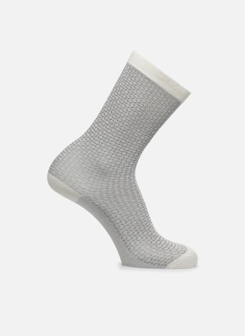 Socks & tights Doré Doré Chaussettes Femme Soft angora Losanges ajourés White detailed view/ Pair view
