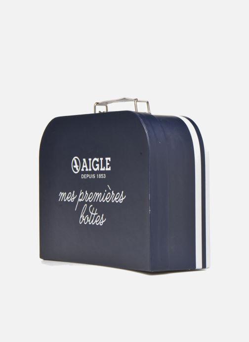 Bagages Aigle valise Marine Bleu vue portées chaussures