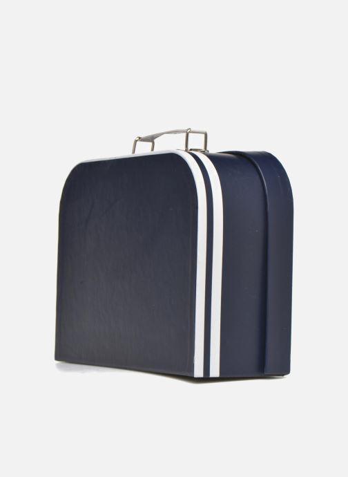 Bagages Aigle valise Marine Bleu vue droite