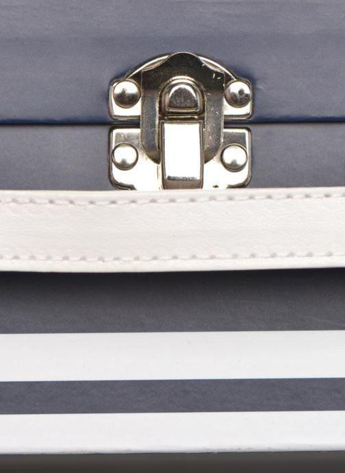 Bagages Aigle valise Marine Bleu vue gauche