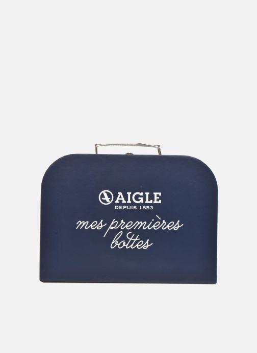 Bagages Aigle valise Marine Bleu vue détail/paire