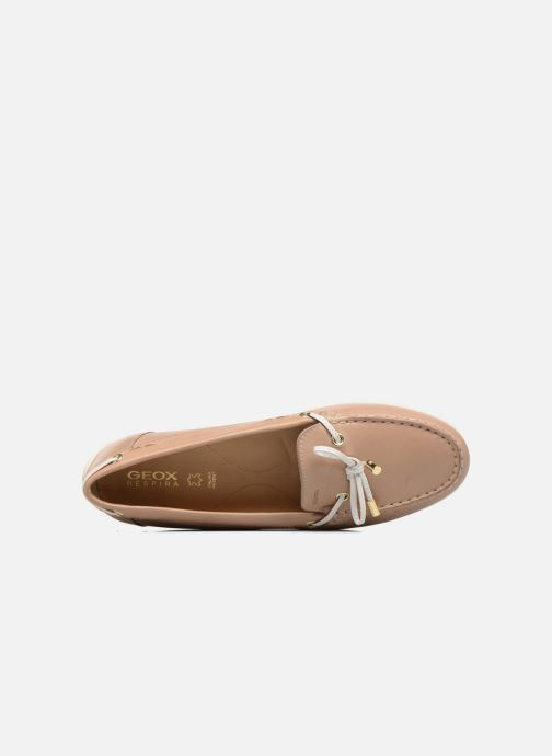 Mocassins Geox D YUKI A D6455A Beige links