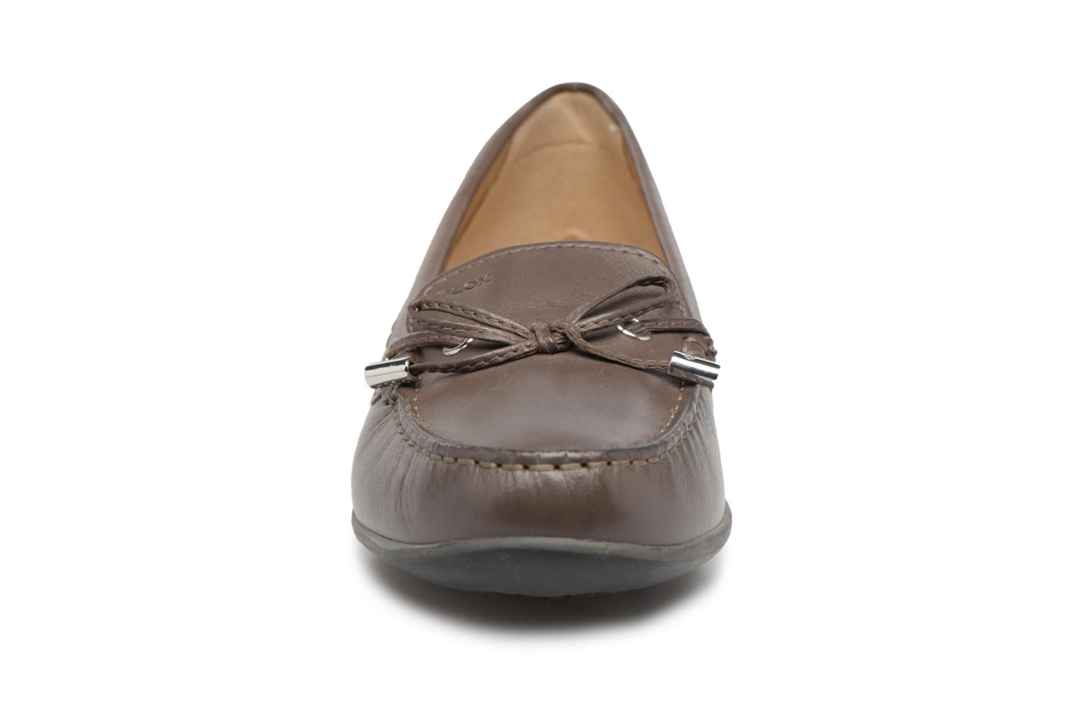 Loafers Geox D YUKI A D6455A Grey model view