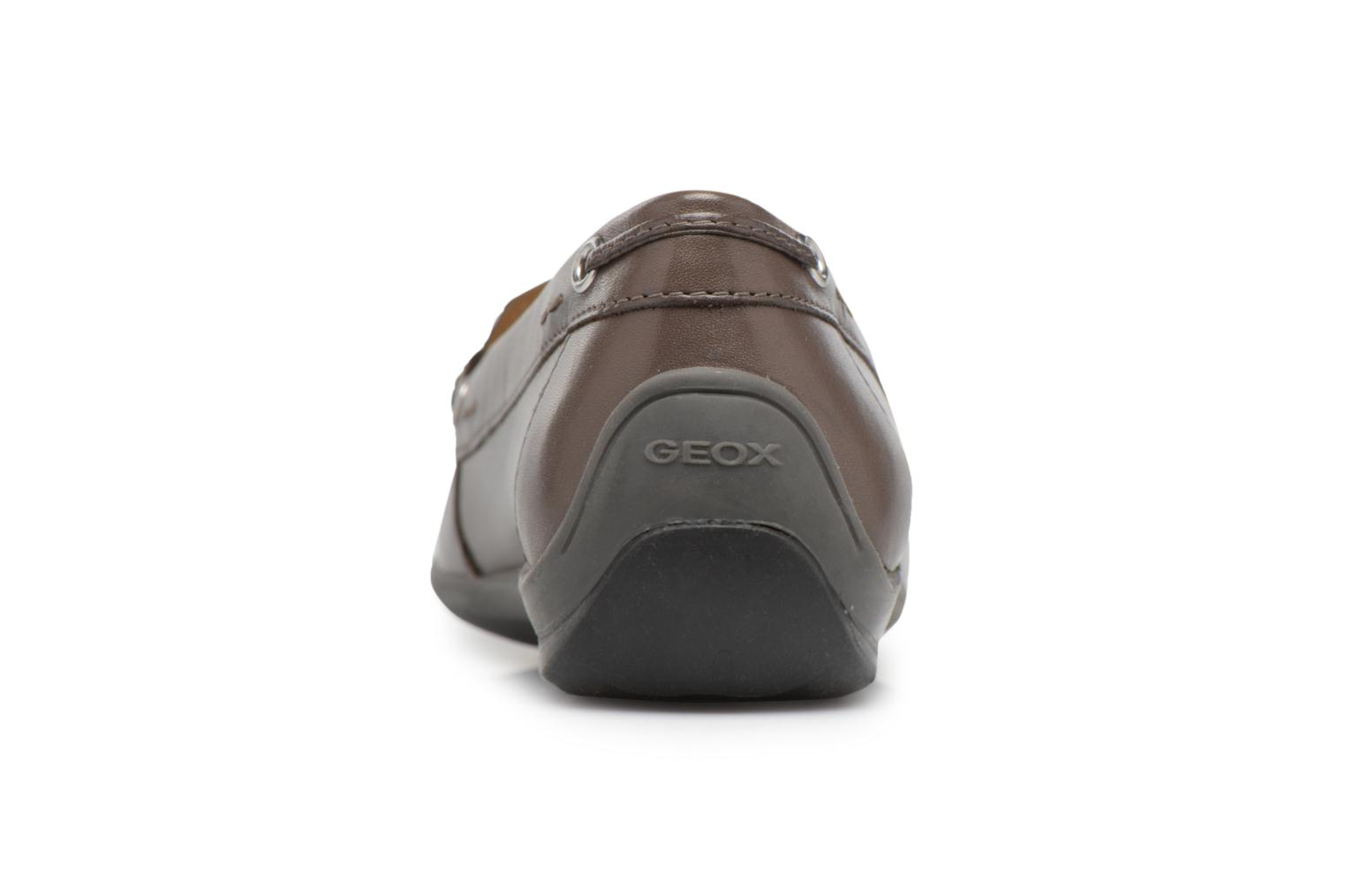 Loafers Geox D YUKI A D6455A Grey view from the right