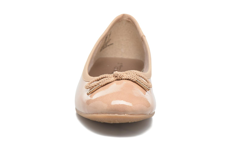 Ballerines Tamaris Aylia Beige vue portées chaussures