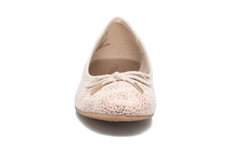Ballerines Tamaris Dahlia Beige vue portées chaussures