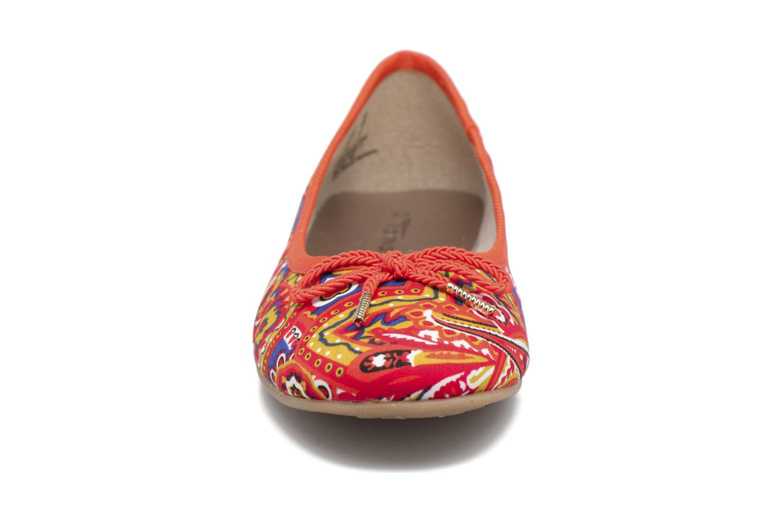 Ballerines Tamaris Dahlia Multicolore vue portées chaussures