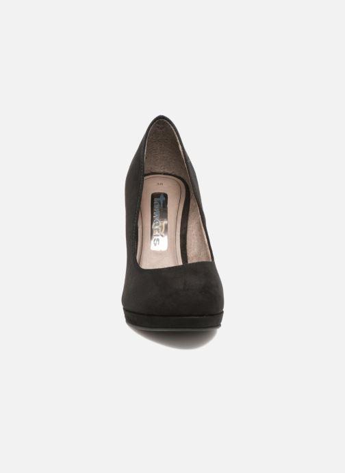 Zapatos de tacón Tamaris Freesia Negro vista del modelo