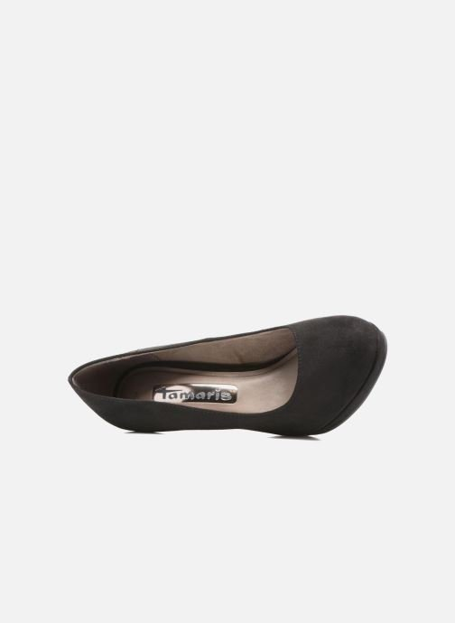Pumps Tamaris Freesia Zwart links