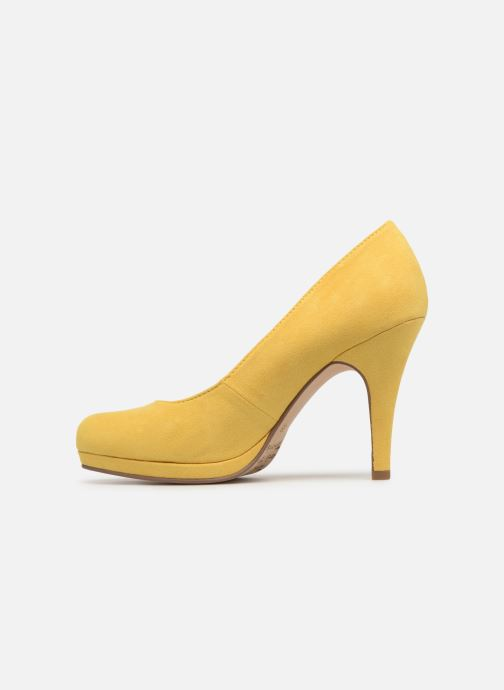 High heels Tamaris Freesia Yellow front view