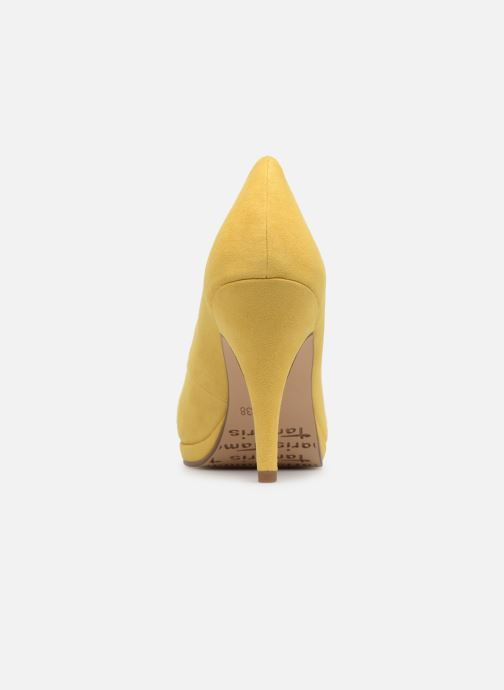 High heels Tamaris Freesia Yellow view from the right