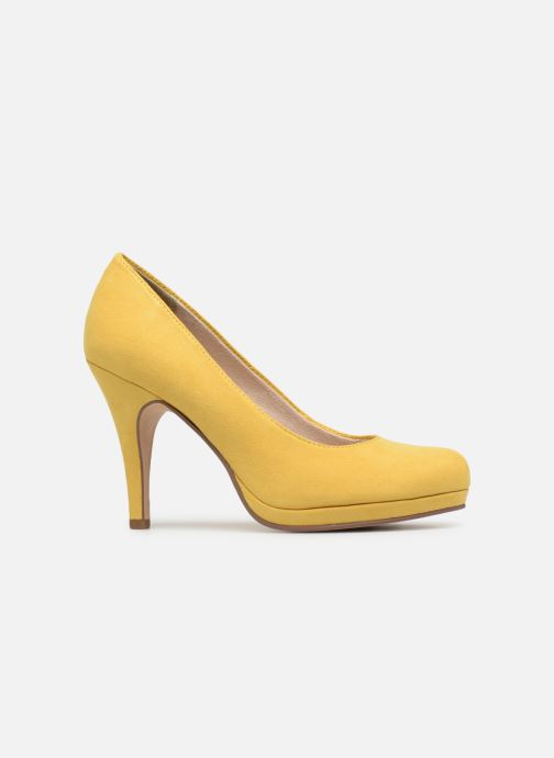 High heels Tamaris Freesia Yellow back view