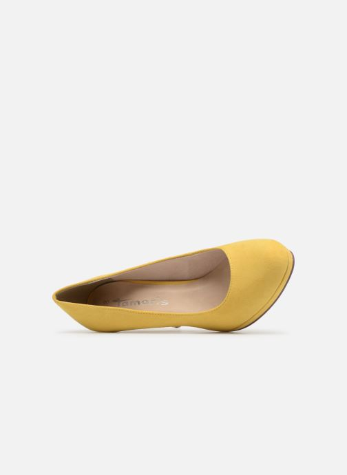 High heels Tamaris Freesia Yellow view from the left