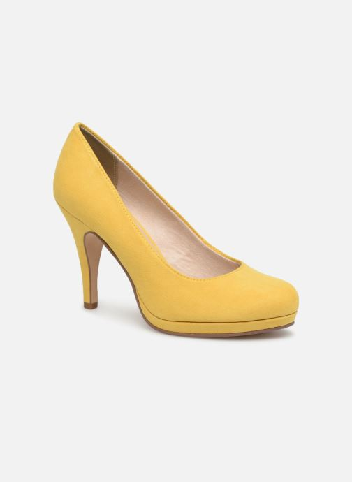 High heels Tamaris Freesia Yellow detailed view/ Pair view
