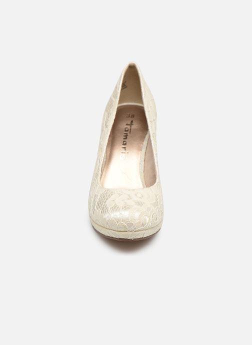 Escarpins Tamaris Freesia Blanc vue portées chaussures