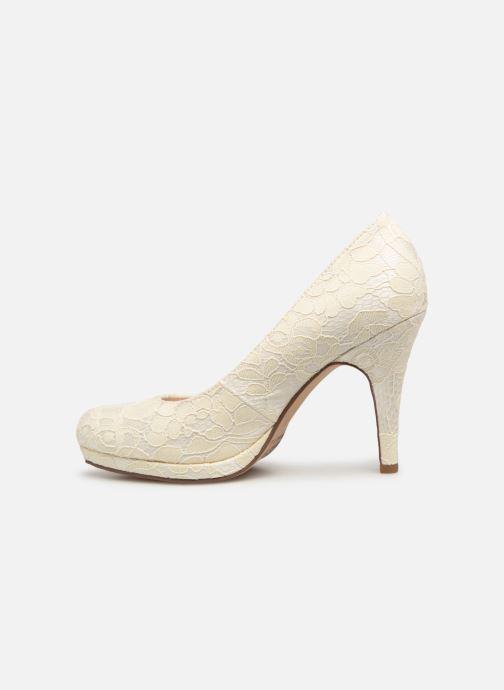High heels Tamaris Freesia White front view
