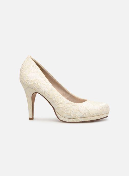 High heels Tamaris Freesia White back view