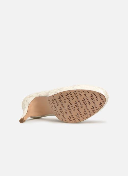 High heels Tamaris Freesia White view from above