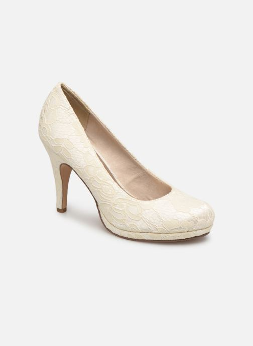 High heels Tamaris Freesia White detailed view/ Pair view