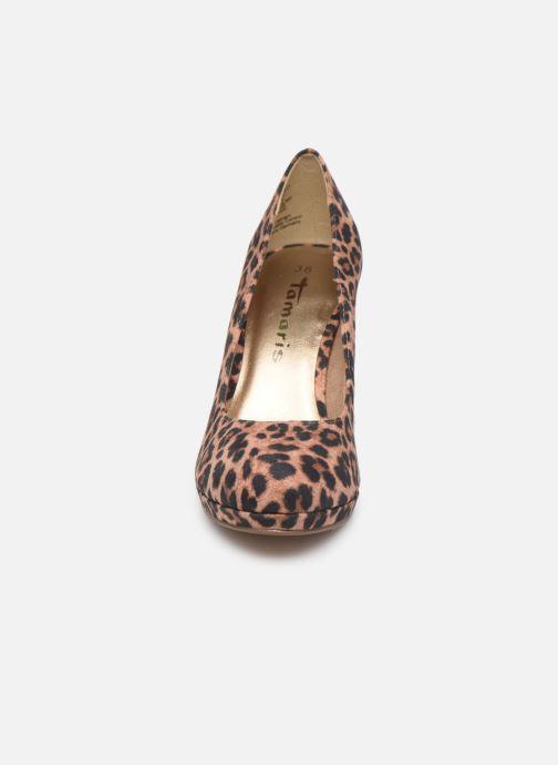 Zapatos de tacón Tamaris Freesia Beige vista del modelo