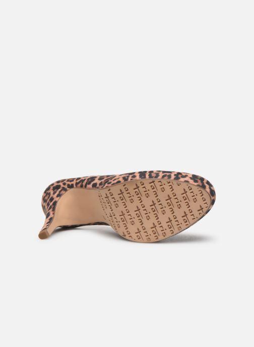 Zapatos de tacón Tamaris Freesia Beige vista de arriba