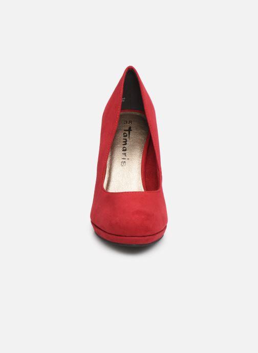 Escarpins Tamaris Freesia Rouge vue portées chaussures