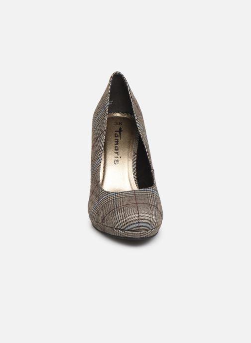 Escarpins Tamaris Freesia Gris vue portées chaussures