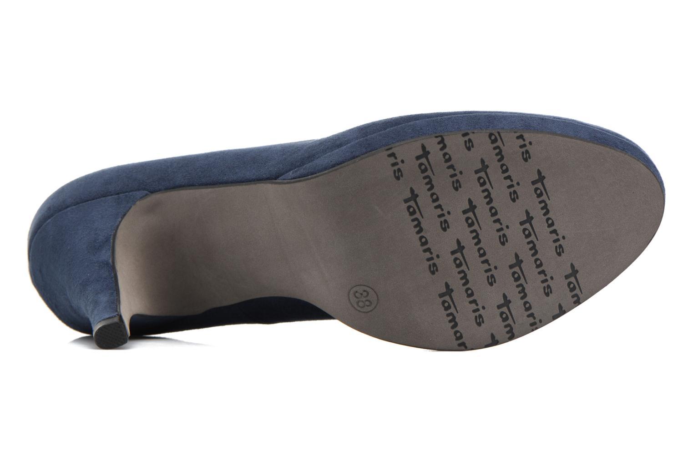 Escarpins Tamaris Freesia Bleu vue haut