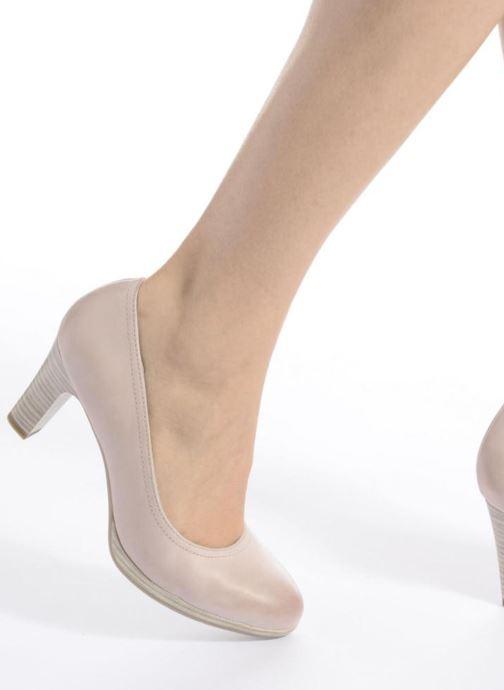 Zapatos de tacón Tamaris Fuchsia Negro vista de abajo