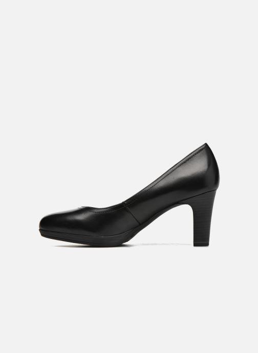 Zapatos de tacón Tamaris Fuchsia Negro vista de frente