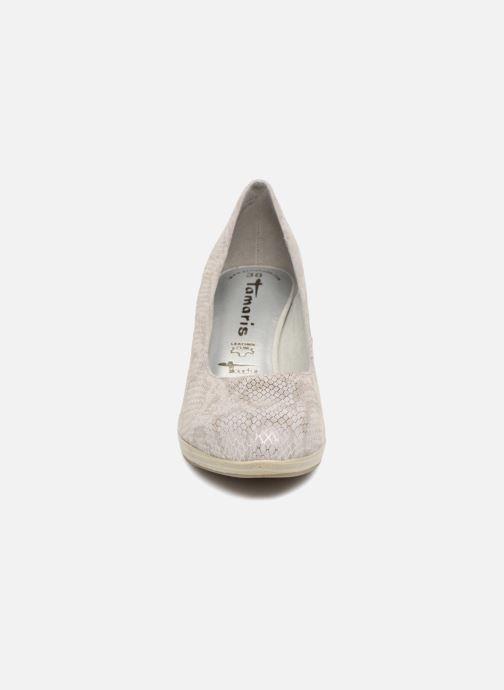 High heels Tamaris Fuchsia Silver model view