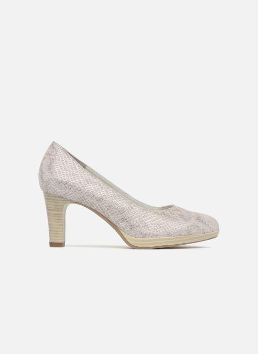 High heels Tamaris Fuchsia Silver back view